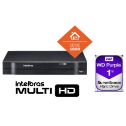 DVR Multi Hd 08 Ch Mhdx 1108 Com Hd De 1 Tb Intelbras