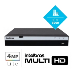 Dvr Mhdx 3104 4 Canais Full Hd Intelbras